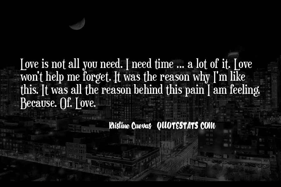 Love Need No Reason Quotes #431821