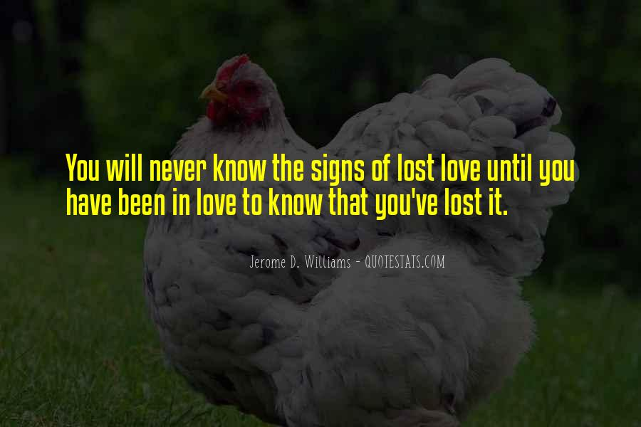 Love Never Lost Quotes #232261