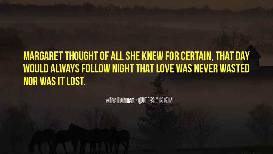 Love Never Lost Quotes #925075