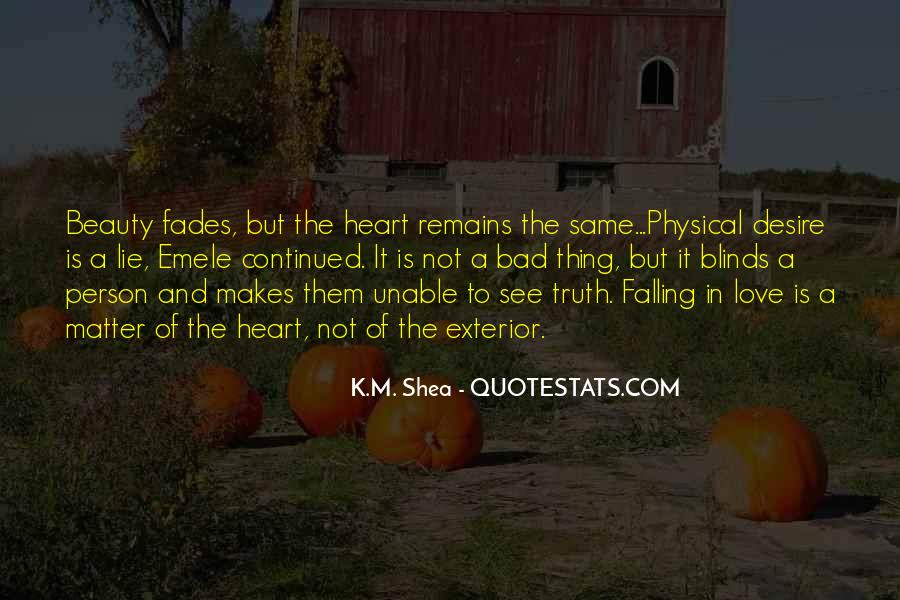 Love Not Physical Quotes #1079912