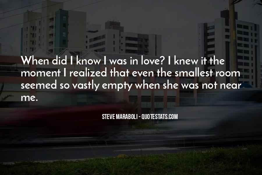 Love Not Realized Quotes #1125055