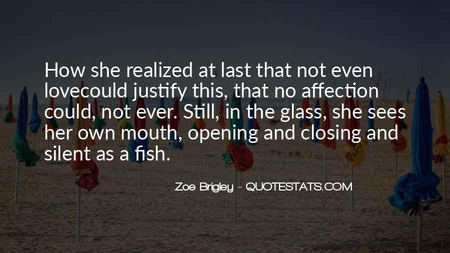 Love Not Realized Quotes #1306409