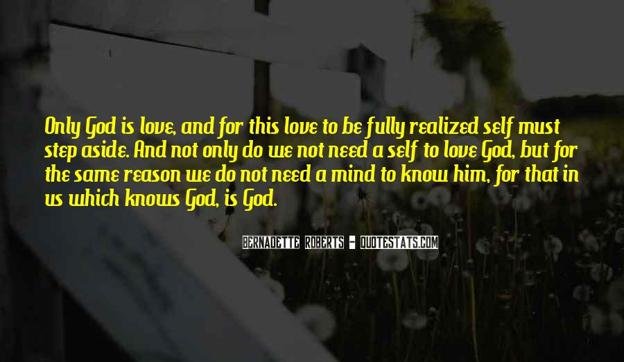 Love Not Realized Quotes #1455794