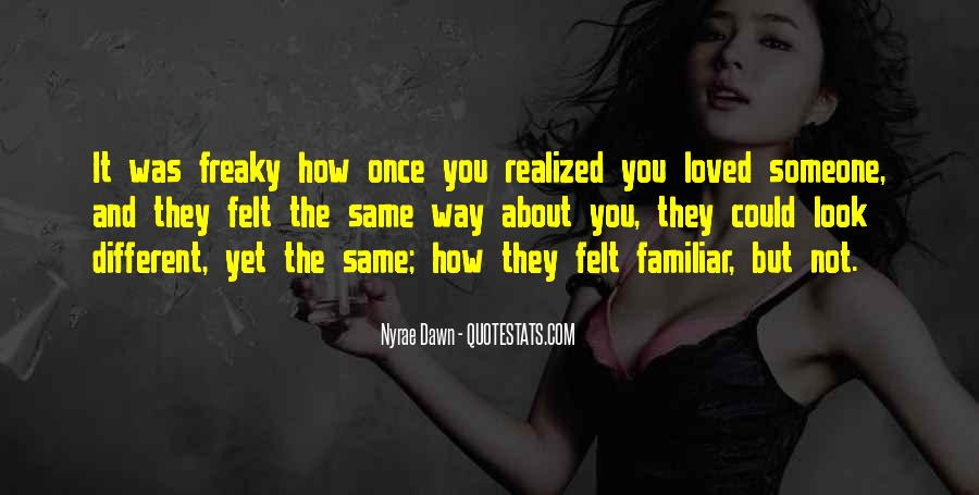 Love Not Realized Quotes #1857574