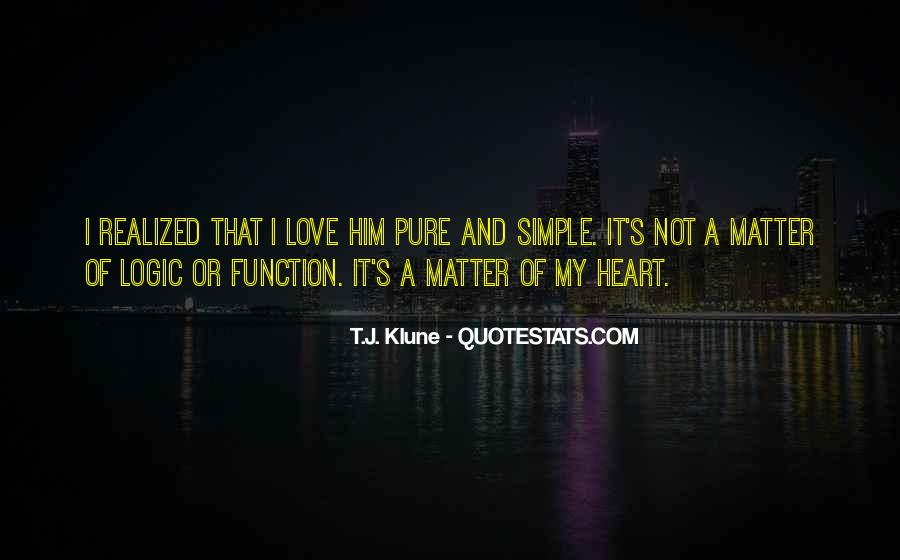 Love Not Realized Quotes #391686