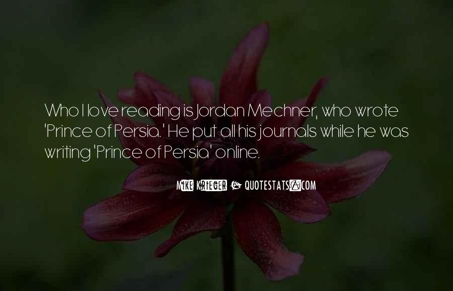 Love Of Reading And Writing Quotes #1006083