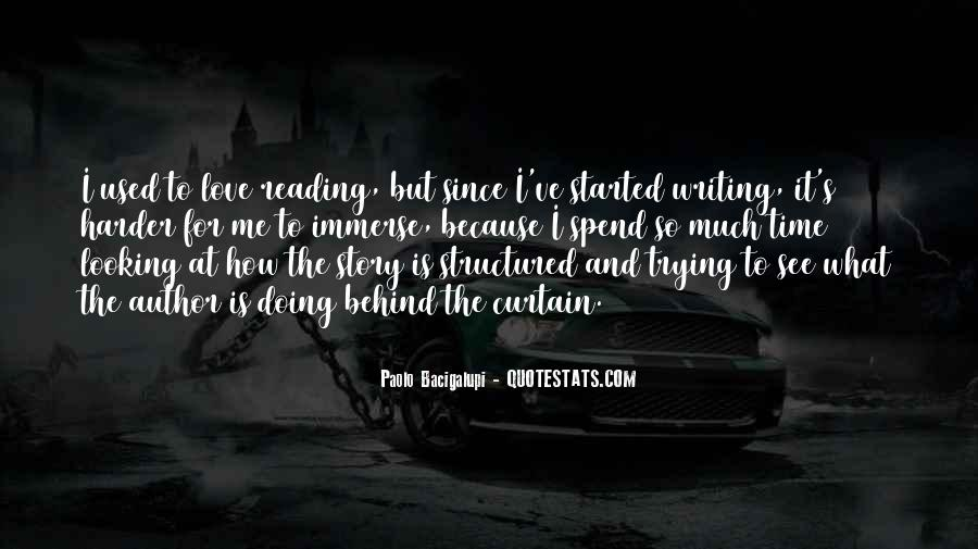 Love Of Reading And Writing Quotes #1158589