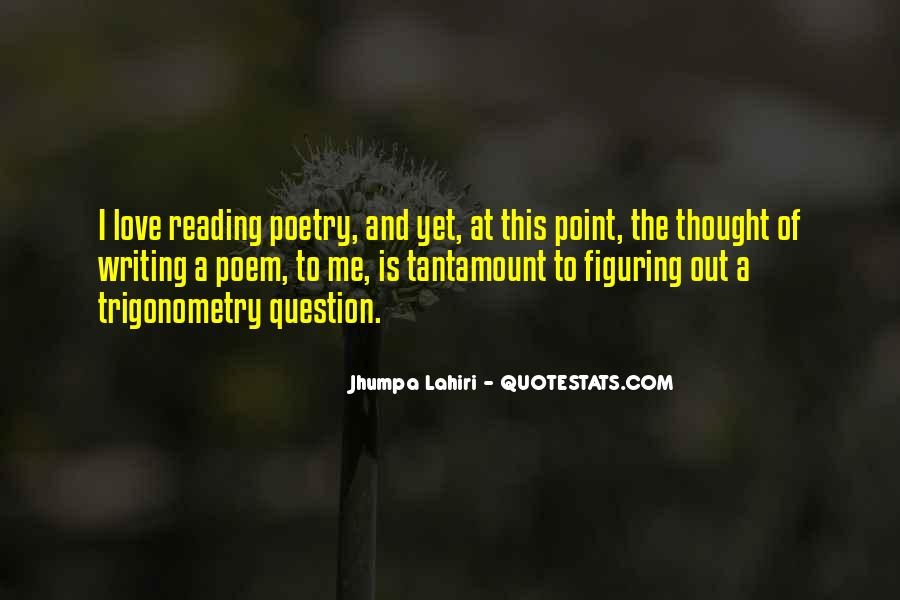 Love Of Reading And Writing Quotes #1232528