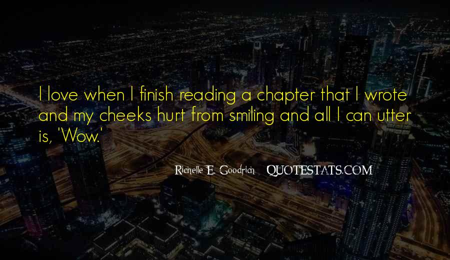 Love Of Reading And Writing Quotes #125942