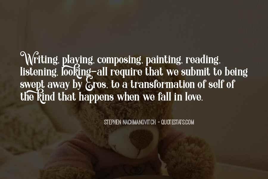 Love Of Reading And Writing Quotes #1340917