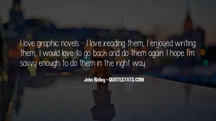 Love Of Reading And Writing Quotes #134981