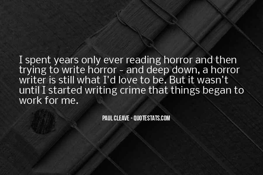 Love Of Reading And Writing Quotes #1518823