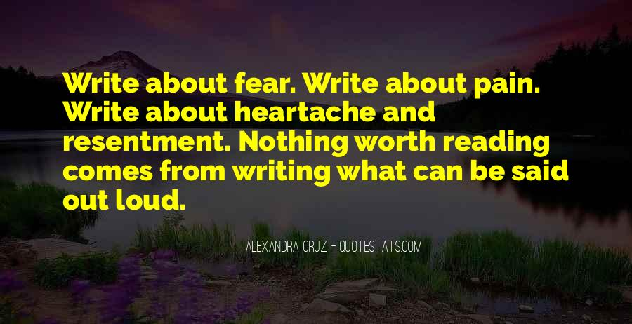 Love Of Reading And Writing Quotes #1539136