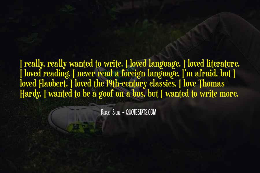 Love Of Reading And Writing Quotes #155964