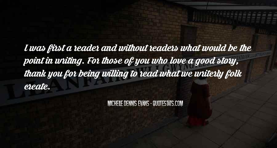 Love Of Reading And Writing Quotes #1676561