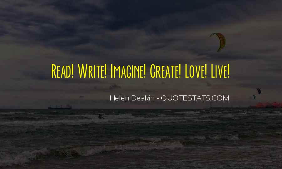 Love Of Reading And Writing Quotes #1777126