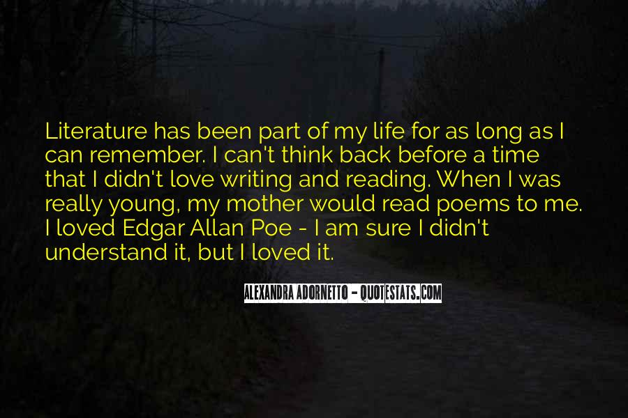 Love Of Reading And Writing Quotes #1790410