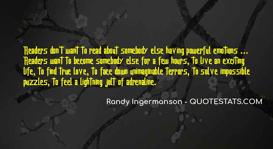 Love Of Reading And Writing Quotes #400562