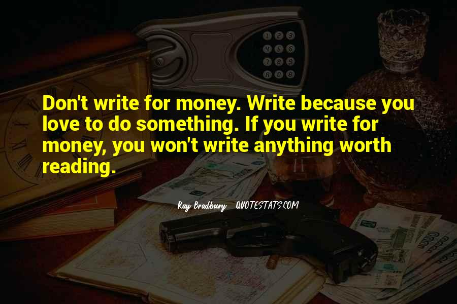 Love Of Reading And Writing Quotes #56014