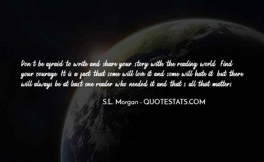 Love Of Reading And Writing Quotes #651159