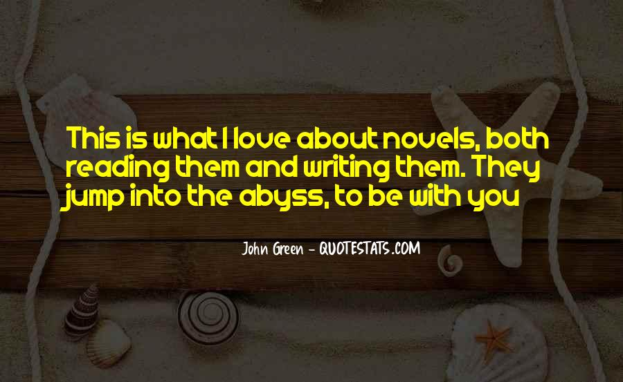 Love Of Reading And Writing Quotes #676914