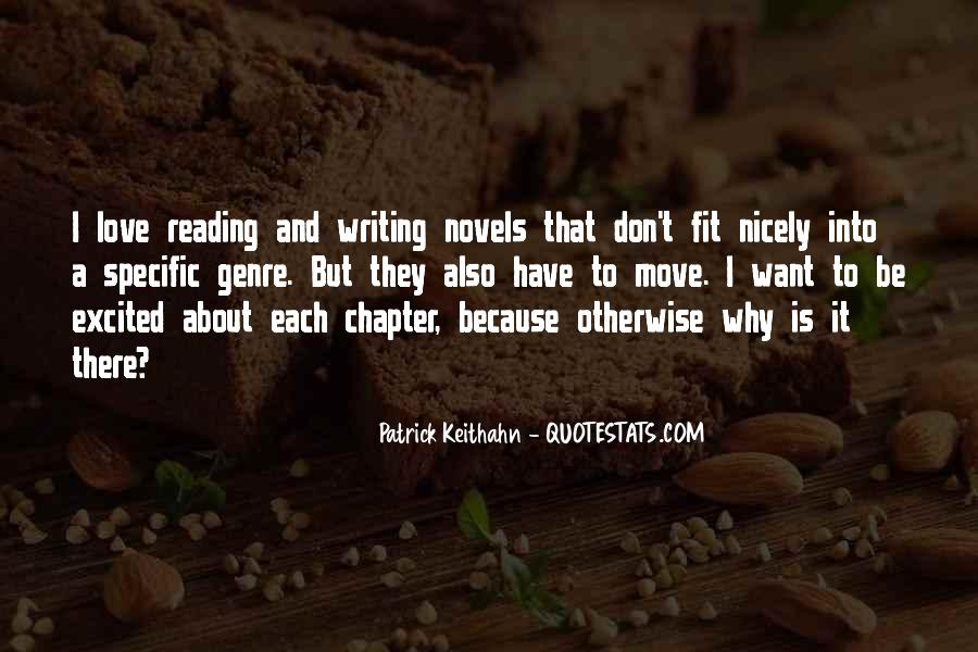 Love Of Reading And Writing Quotes #716129