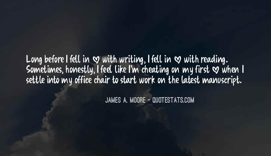 Love Of Reading And Writing Quotes #81171