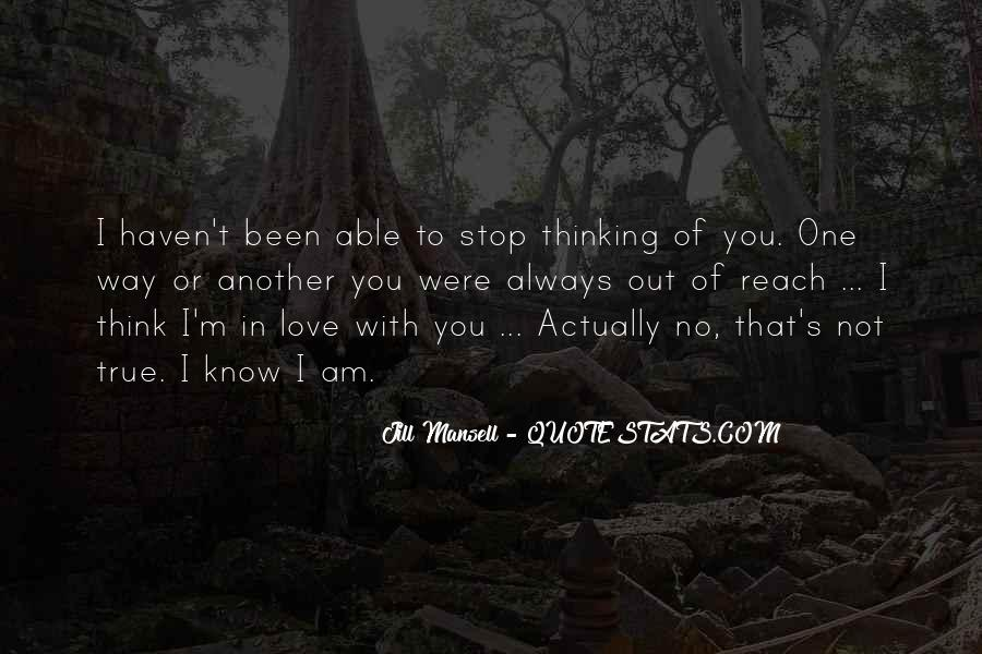 Love Out Of Reach Quotes #1121864