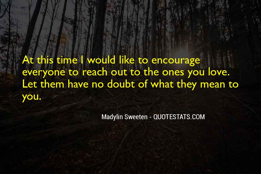 Love Out Of Reach Quotes #1396079