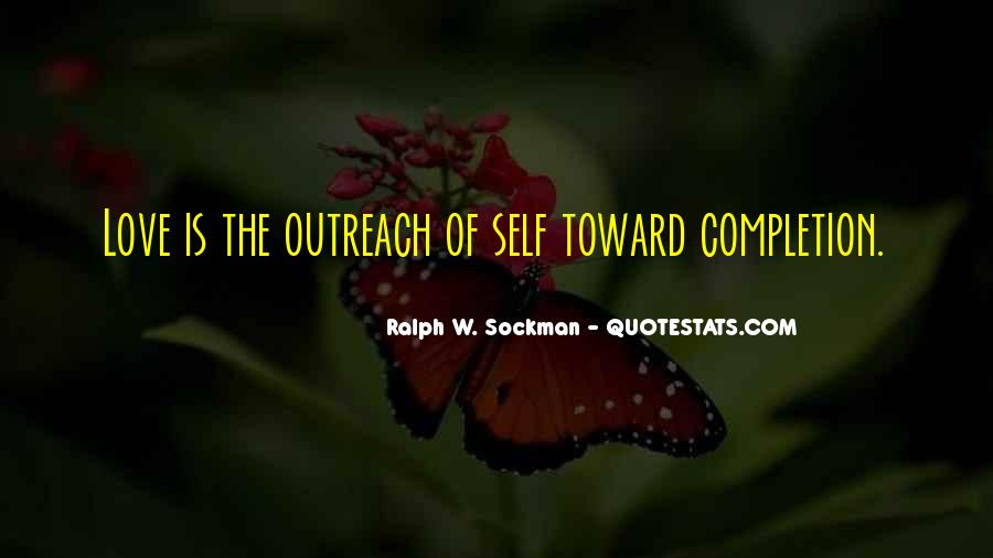 Love Outreach Quotes #1817959
