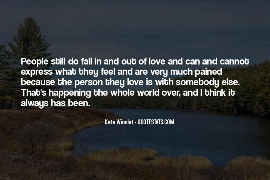 Love Pained Quotes #46044