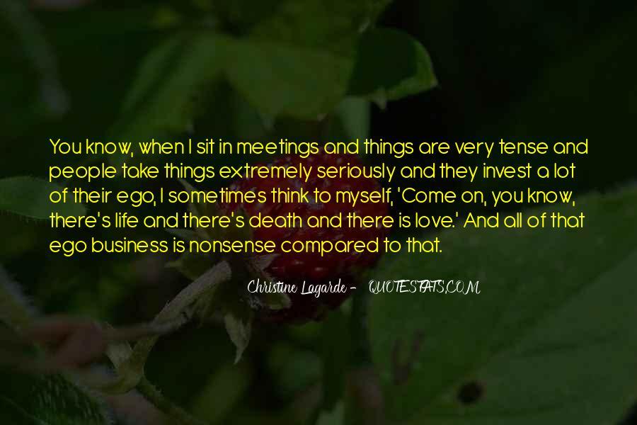 Love Past Tense Quotes #1179478