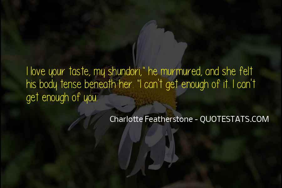 Love Past Tense Quotes #1725246