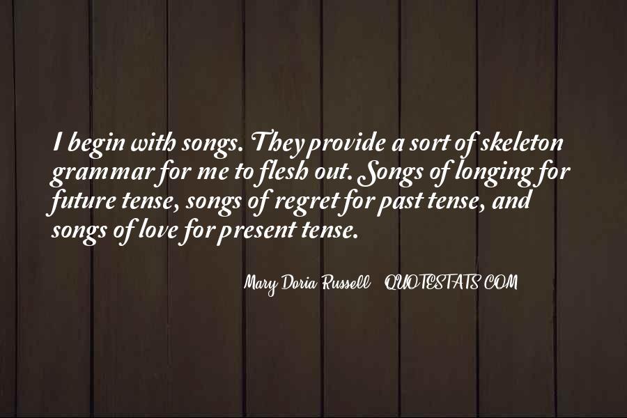 Love Past Tense Quotes #425159