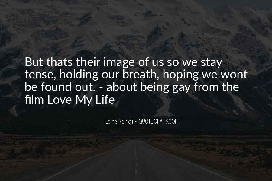 Love Past Tense Quotes #430347