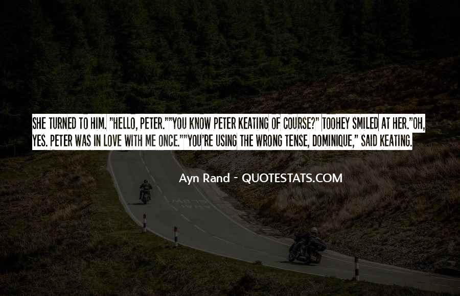 Love Past Tense Quotes #835797