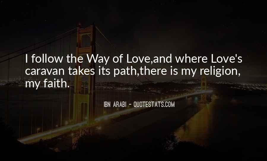 Love Path Quotes #246112
