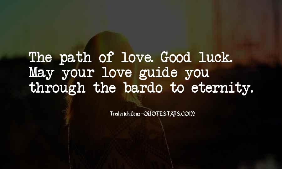 Love Path Quotes #51906