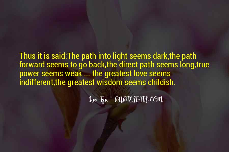 Love Path Quotes #57101