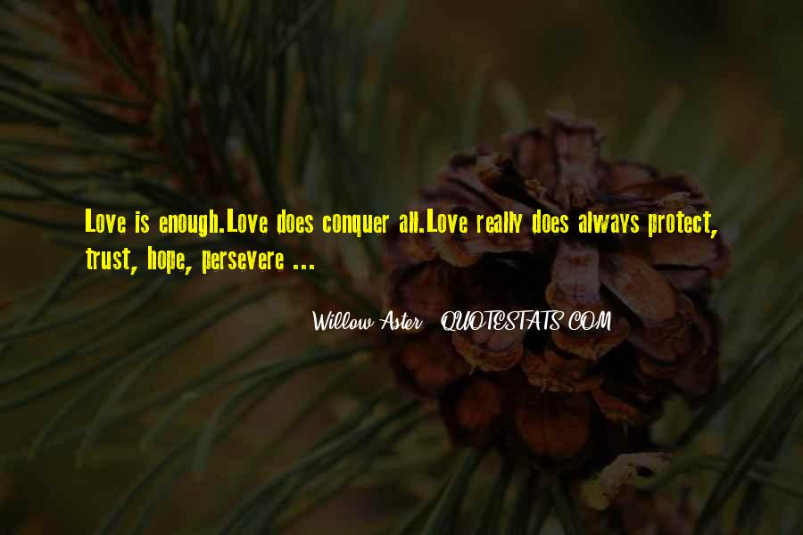 Love Persevere Quotes #1754420