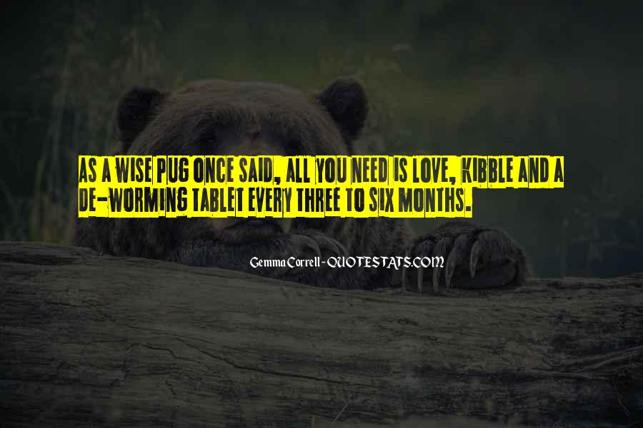 Love Pug Quotes #1720147