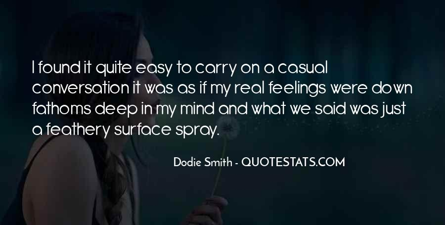 Quotes About Deep Conversation #132529