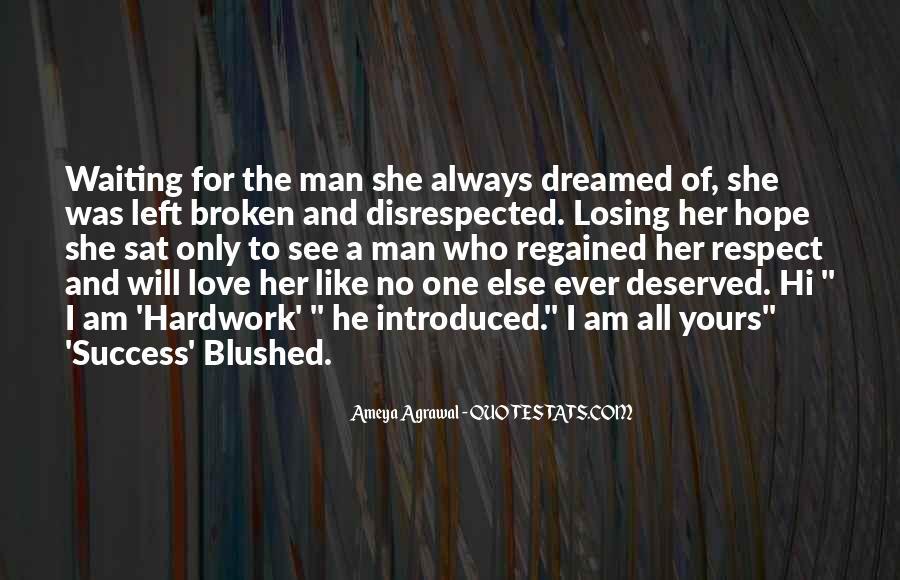 Love Regained Quotes #963325