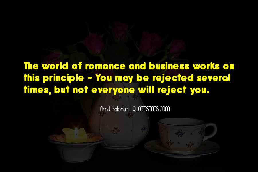 Love Rejection Acceptance Quotes #911184
