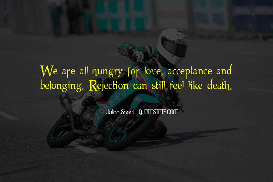 Love Rejection Acceptance Quotes #927696