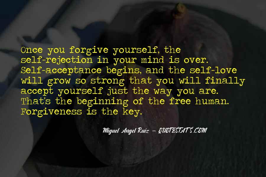 Love Rejection Acceptance Quotes #988728