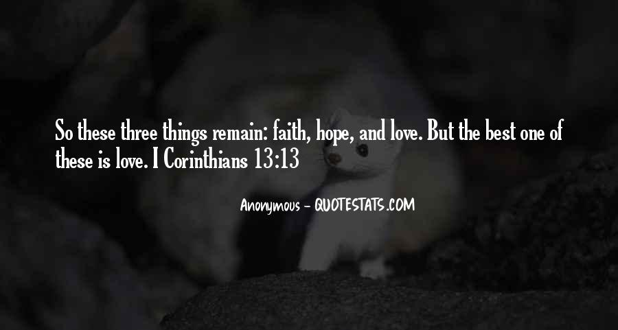 Love Remain Quotes #365001