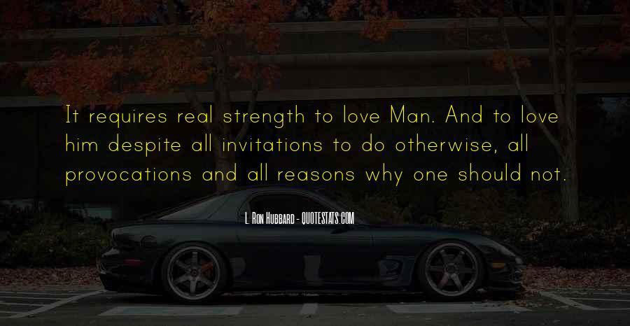 Love Requires Quotes #193491
