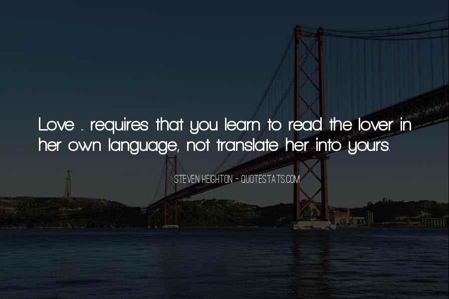Love Requires Quotes #894006