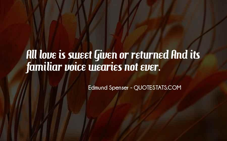 Love Returned Quotes #1143830